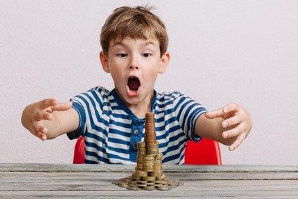 Umgang mit Geld - Kinder