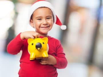 Weihnachtsgeschenk Kinderkonto