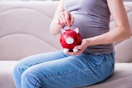 Geld Sparen in der Schwangerschaft